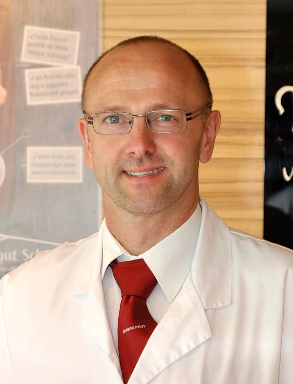 Filialleiter Martin Gnadler