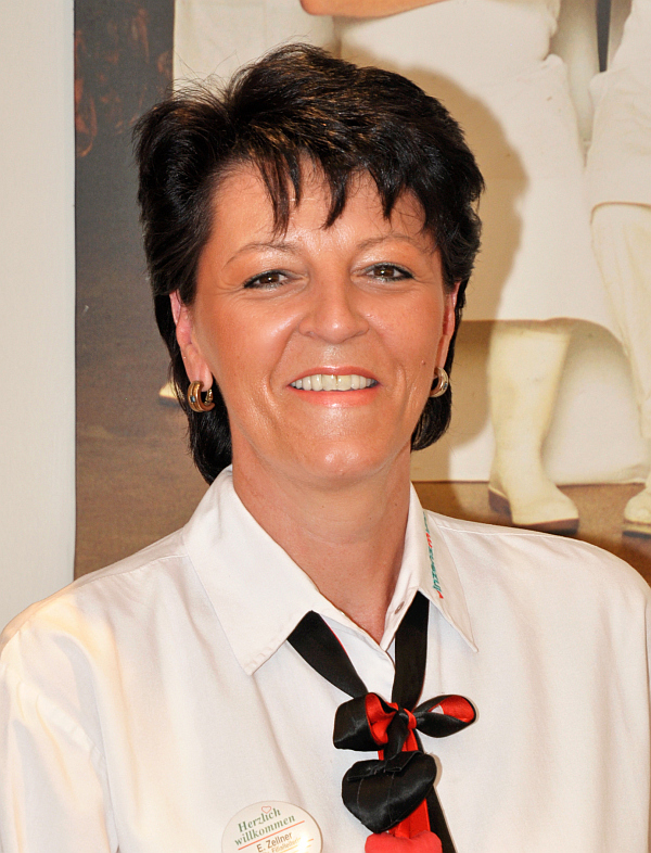 Restaurantleiterin Ingrid Zellner