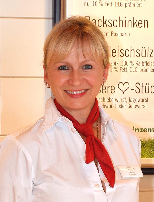 Filialleiterin Milka Stegmeir