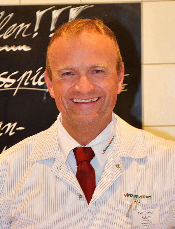 Filialleiter Rolf Adam