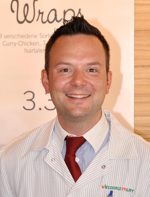 Filialleiter Florian Schiesswohl