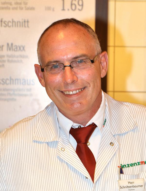 Filialleiter Robert Schnitzenbaumer