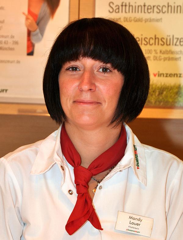 Filialleiterin Mandy Lauer